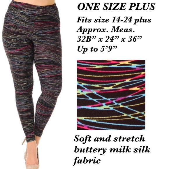 Aspiring Lularoe Leggings One Size Girls' Clothing (sizes 4 & Up)
